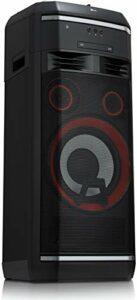 LG OL100, Noir – HiFi Anlage (2000W, Xboom, CD/Radio/USB, Auto DJ, Karaoke, Bluetooth)