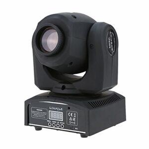 Lixada DMX-512 Moving Head Lampe disco avec 8 couleurs + 8 modes, 4 modes de contrôle pour fête disco spectacle
