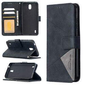 LODROC Coque Nokia 1.3 Coque,Housse en Cuir Premium Flip Case Portefeuille Etui avec Stand Support et Carte Slot pour Nokia 1.3 – LOBFE0700396 Noir