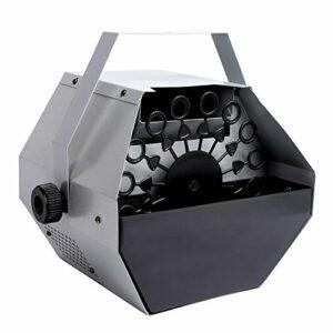 Machine à bulles automatique, portable, électrique, soufflante Maker Machine, Savon DJ Party Club 25 W 220 V (argent)