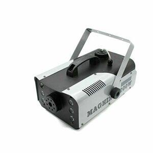 Machine à fumée 1200 W LED effet brouillard avec télécommande pour les vacances, les fêtes, les mariages