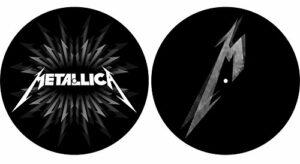 Metallica 'M & Shuriken' de Turtable slipmat