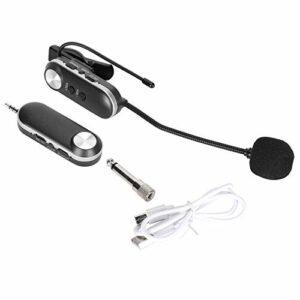Micro universel pour saxophone Système de microphone à segment en U sans fil Guitar Mike pour Instrument de musique