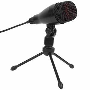 Microphone à condensateur d'enregistrement professionnel Carte son intégrée pour la diffusion en direct en studio