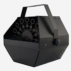 Mini machine à bulles électrique portable en métal pour DJ/bar/fête/spectacle/scène/mariage