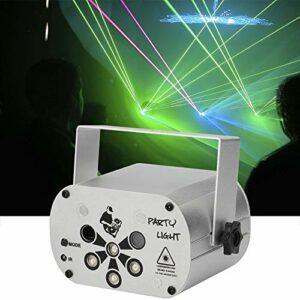 MORFIT Boule disco LED Lampe de fête avec télécommande sans fil, câble USB, coordination vocale RVB 360 °C, lumière de fête rotative pour karaoké, Noël, club, mariage