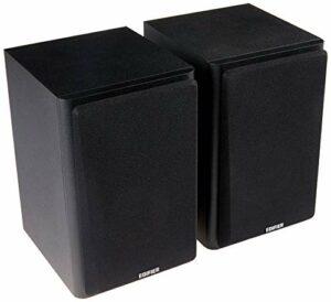New SPE-R1000T4-BLACK R1000T4-BLACK EDIFIER R1000T4 Haut-Parleur Ultra-stylé Active BOOKSELF – UnCOMPROMISING Sound Quality for Home Entertainment Theatre – Haut-parleurs de Basses 4» Noir