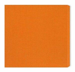 Panneau acoustique»Brushed Pro S»: 58 * 58 * 6.5cm, Orange