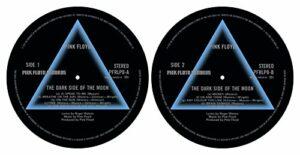 Pink Floyd «Dark Side Of The Moon 'de Turntable slipmat