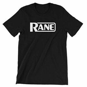 Rane T Shirt Technics Vestax Serato DJ Hip Hop Shure Pioneer Numark Vinyl Music Tee Black 3XL