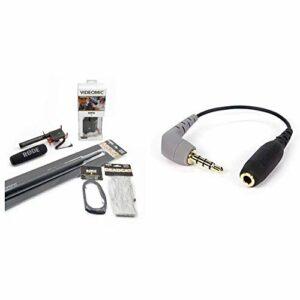 Rode VideoMic Micro directionnel + Accessoires & SC4 Adaptateur pour VideoMic