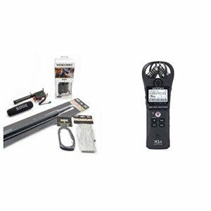 Rode VideoMic Micro directionnel + Accessoires & Zoom H1n/If Enregistreur Numérique