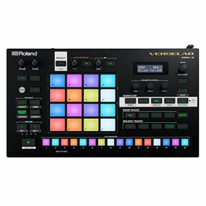 Roland VERSELAB MV-1 ZEN-Core Professional Song Production Studio for Songwriters and Singers. 4×4 pads and TR-REC Step Sequencer for drums, basslines, and melodic parts