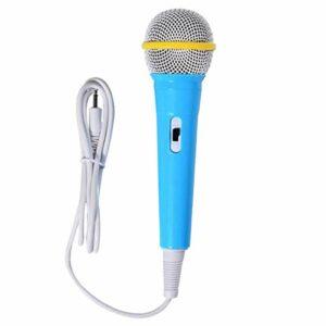 ruiruiNIE Microphone Filaire Instrument de Musique Fille Enfants Jouet pour Apprentissage Machine Ordinateur équipement de Voiture