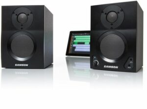 Samson SAM3BT Mediafone BT3 Paire de Moniteurs Actifs 2 x 15 W Bluetooth
