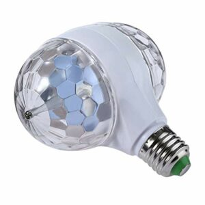 Sharplace LED Light Party Disco Éclairage Effets Auto-Gyrophare Ampoule 6 W pour Toutes Les Lampes avec E27 Prise En Plastique double-Dirigé Ampoule