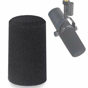 Shure SM7B Bonnette Anti-Vent en Mousse Professionelle pour Réduire Bruit pour Cardioid Microphone Shure SM7B par YOUSHARES
