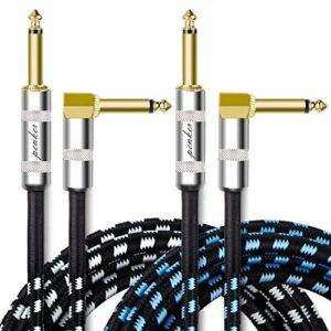 SNUNGPHIR Câble de guitare robuste et résistant à l'usure, avec câble de guitare à réduction de bruit, FR-JTX-JS-284