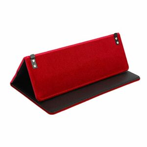 SODIAL Pliable avec Fonction D'Aspiration MagnéTique éTui de Portable pour Haut-Parleur Portable Stockwell