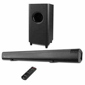 Sound Bar Wohome Barre de Son TV Bluetooth 2.1 CH Soundbar S18