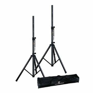 Soundsation SPST-SET70-BK Support pour Haut-Parleur/Enceinte avec Sac