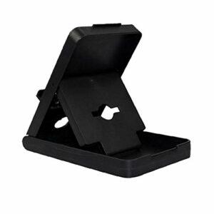 Support pratique commutateur noir support réglable Jeu Compact Angle Jouer Holderfor Commodité