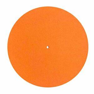 Tapis de plateau en feutre pour tourne-disque vinyle Audiophile 295 mm de diamètre