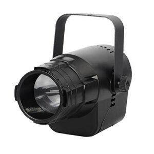 UKing Projecteur à LED – 3 motifs – 5 couleurs RGBWY – Lumière disco – DMX512 – Pinspot – Éclairage de scène – Pour DJ, bar, club, fête