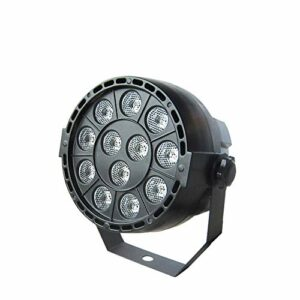 WNN-U LED de scène de LED Par 12W à commande vocale automatique DMX512 Disco Light Party DJ Bar mariage club KTV WNN-U