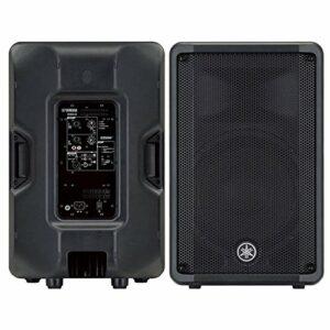 Yamaha DBR15 465W Noir haut-parleur – Hauts-parleurs (2-voies, Avec fil, RCA, 465 W, 50 – 20000 Hz, Noir)