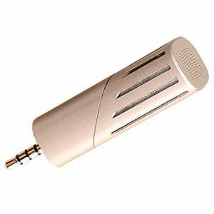 ZLDQBH Mini Portable Vocal/Instrument Microphone Mini Microphone Dispositif d'enregistrement Pliable adapté au Portable de téléphone Portable