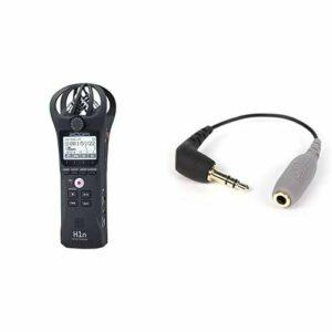 ZOOM H-1n/220GE Handy Recorder Enregistreur Audio & Rode SC3 Adaptateur pour Smartlav