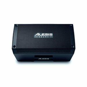 Alesis Strike Amp 8 – Ampli / enceinte 2000 W portable pour kits de batterie électronique avec woofer 8″, EQ de contour, et commutateur ground lift