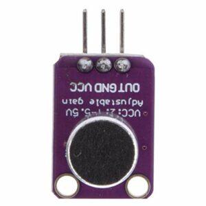 Amplificateurs de Microphone à électret 2 pièces MAX4466 potentiomètre équipement électrique amplificateurs d'enregistrement Audio pour convertisseurs de voix