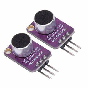 Amplificateurs de Microphone à électret MAX4466 à Gain réglable pour convertisseurs de voix amplificateurs d'enregistrement Audio équipement électrique