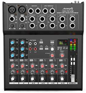 Audibax 1002 FX Table USB 10 canaux avec effets et USB