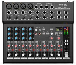 Audibax 1202 FX Table USB 12 canaux et USB
