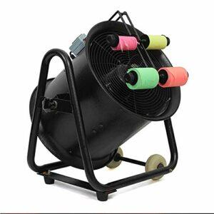 Automatique Machine à Confettis Professionnelle 1100W pour Papier de Couleur Fluorescente Effet Tir Confetti Fournitures de Mariage Lanceur de Confetti Black Ajustable (Size : L)