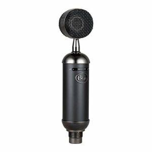 Blue Microphones Spark Blackout SL Micro Électrostatique XLR pour L'Enregistrement et le Streaming Pros