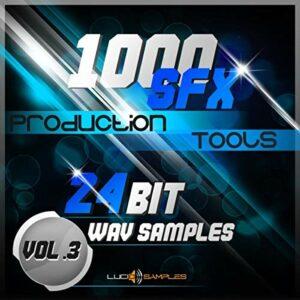 CINEMATIC Music Production 1000 SFX Production Tools Vol. 3 – Magnifique Effets Sonores Pack WAV Files (24Bit) DVD non BOX