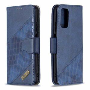 Coque pour Xiaomi Poco M3 Antichoc étui Rabat Cuir Case Portefeuille TPU Gel Bumper Silicone Wallet Cover Aimant Housse pour Xiaomi Poco M3 – ZIBF060642 Bleu