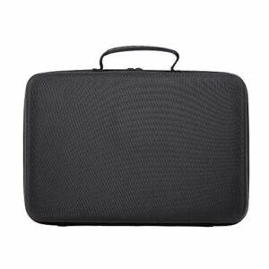Fesjoy Étui de transport pour manette de DJ Portable Housse de transport pour mixeur en EVA rigide Sac de rangement Compatible avec Numark Party Mix DJ8 Poignée de voyage