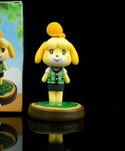Figurine jouet Animal Crossing Xi Shihui Vêtements d'hiver Forest Friends Club Clay Figure de visage modifiable