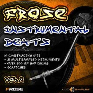 INSTRUMENTAUX Samples Frose Instrumental Beats Vol.2 – 10 beats instrumentaux WAV + GIG Files DVD non BOX