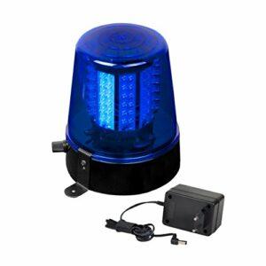 JB Systems Police Gyrophare à 108 LEDs Bleu/Noir