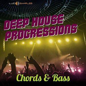 KEYBOARD Samples Packs Deep House Progressions – MIDI Chords Riffs, Wav Piano & Bass Samples  DVD non BOX