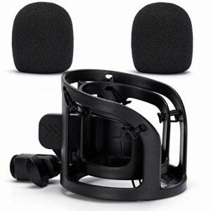 LEDAOU Support de fixation pour microphone de 33 mm à 60 mm de diamètre.