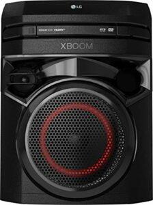 LG XBOOM ON2DN Enceinte de fête avec système de Son Onebody (Bluetooth, HDMI, Fonction karaoké) Noir [Année modèle 2020]