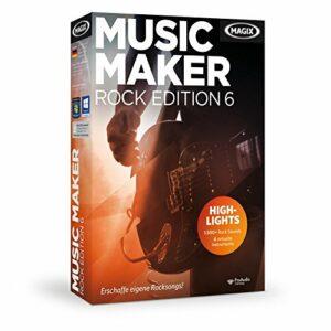 Magix Music Maker Rock Edition 6 [import allemand]