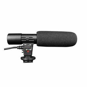 Microphone d'appareil Photo Reflex MIC-01 pour caméscope d'appareil Photo Reflex numérique DV, Microphone d'enregistrement stéréo de caméra vidéo avec Prise 3,5 mm